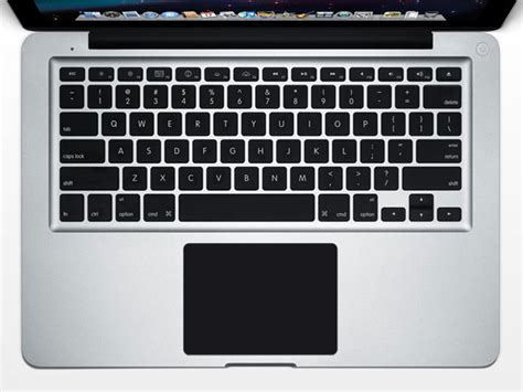 Trackpad Macbook Pro black trackpad protector skin 12 90 skinstyler macbook skins for trackpad and wrist rest