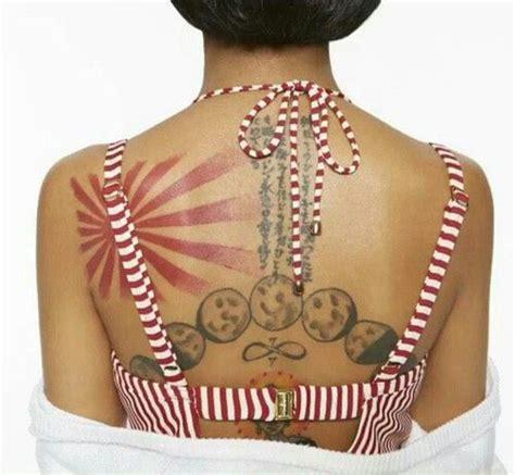 jhene aiko back tattoo jhene aiko tattoos jhene aiko