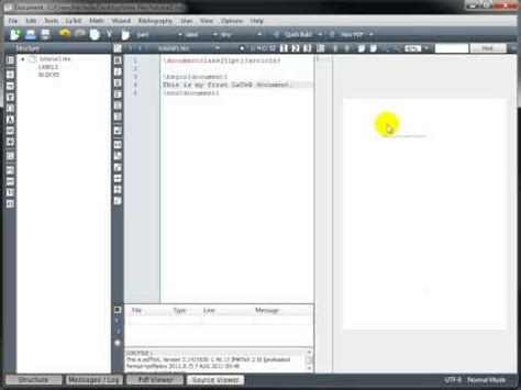 tutorial latex sublime video latex tutorial 1 creating a latex document