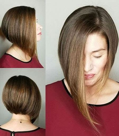 kurze asymmetrische bob frisuren frisuren  neue