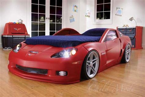corvette toddler bed slot2 corvette racecar bed autoguide com news