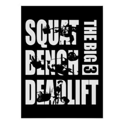 squat bench deadlift deadlift powerlifting posters zazzle co nz