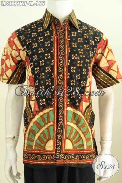 Baju Hem Formal hem batik formal pria lengan pendek furing baju batik kerja nan istimewa cocok juga buat