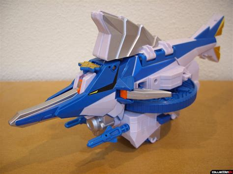 Shinkenger Origami - samurai gattai series 02 kajiki origami front