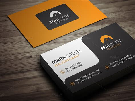 real estate cards templates real estate business card 39 business card templates on