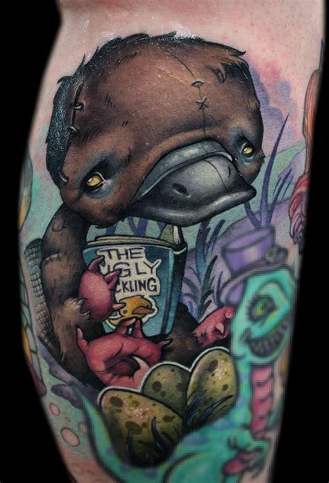 platypus tattoo doty certified artist