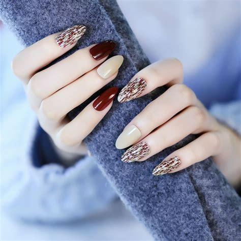 imagenes de uñas negras acrilicas 17 mejores ideas sobre u 241 as francesas postizas en