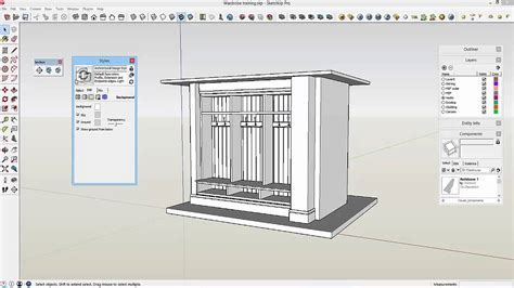 sketchup layout features sketchup to layout 11 styles and scenes youtube