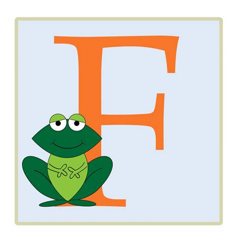 Letter A Photos letter f frog illustration free stock photo