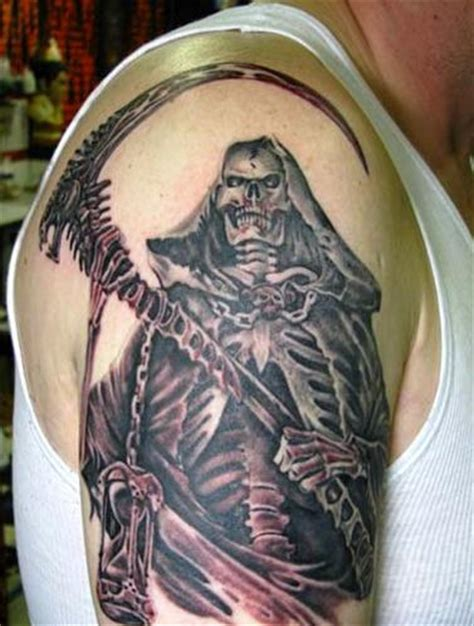 reaper tattoos for men grim reaper tattoos page 6