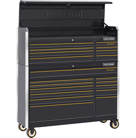 craftsman tool box new craftsman pro series tool storage with smartphone