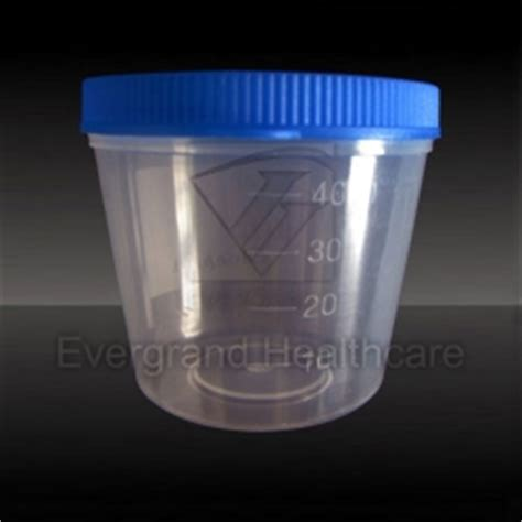 Acrylic Akrilik Tempat Tissue Cottond Bud Custome 40ml urine cup with press lid manufacturers reliable 40ml urine cup with press lid custom 40ml