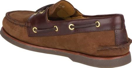 sperry top sider gold cup a o 2 eye boat shoe brown buc