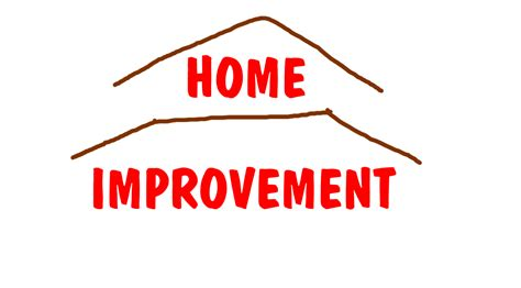 the home improvement logo in my style by
