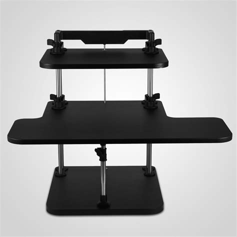 desktop adjustable stand up desk 3 tier adjustable computer standing desk portable stand up