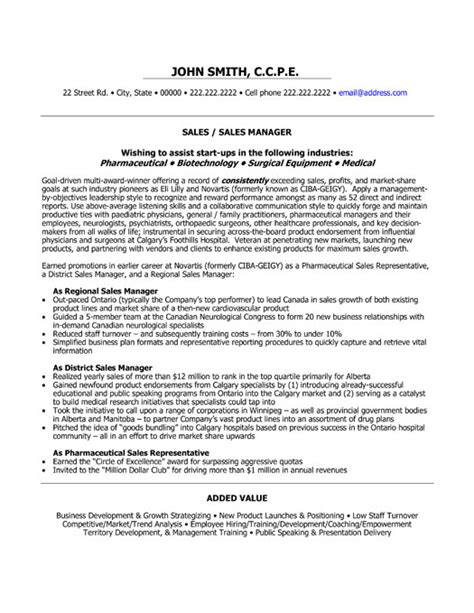 sales professional resume exle sle 28 images sle