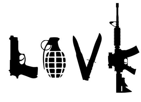 love tattoo gun grenade love guns grenade knife bullet by evanchandlerdesigns on
