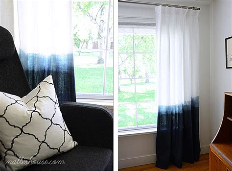 how to ombre dye curtains colorful dip dye ombre curtains for every room