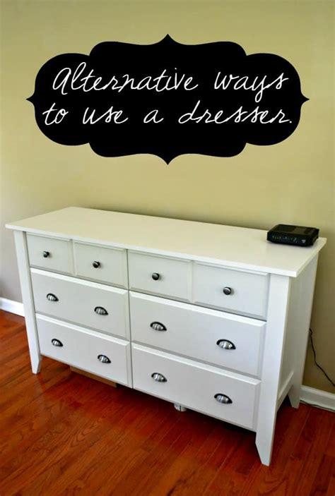 Dresser Alternatives by Alternative Ways To Use A Dresser This S
