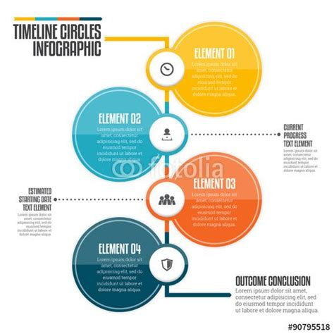 Best 25  Circle infographic ideas on Pinterest   Timeline