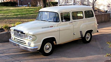 oh the possibilities 1960 dodge town wagon