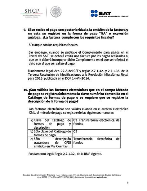 preguntas frecuentes sat complemento de pago preguntas frecuentes m 233 todo de pago integrado sat imcp