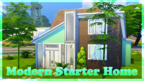 the sims house building modern abode speed build youtube idolza the sims 4 speed build modern starter home youtube