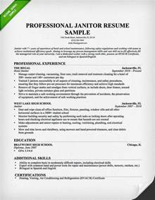 Resume For Custodian by Pin By Resume Genius On Resume Resources