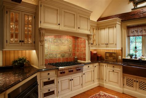 Cream Shaker Kitchen Ideas Bucks County Equestrian Farm Farmhouse Kitchen