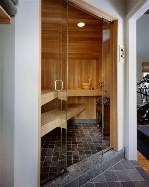 bathroom sauna sauna rye ny contemporary bathroom new york by dave tilly associates llc