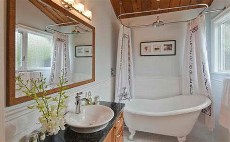 ideas  setting  bathroom  victorian bath tub