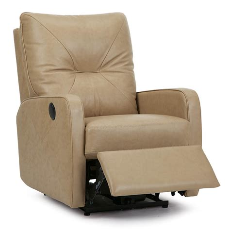 palliser theo traditional leather recliner