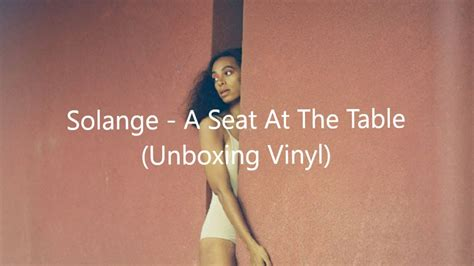 solange a seat at the table vinyl unboxing