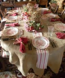 country style table decorations twc decorating with burlap