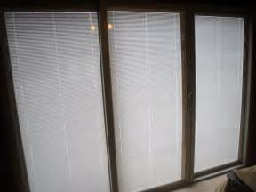 Blinds For Doors With Glass Sliding Glass Doors With Blinds Decofurnish