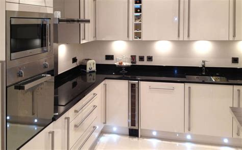 Black Gloss Kitchen Ideas Valencia Kitchen Classic High Gloss Design Tesco Kitchens Tesco Layout