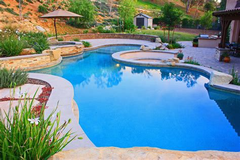 How To Design Backyard Landscaping Gallery Southern California Swimming Pools
