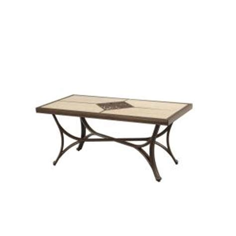 Coffee Table Home Depot Hton Bay Pembrey Patio Coffee Table Hd14208 The Home Depot
