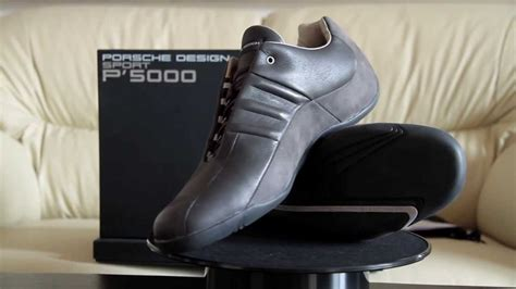 porsche design shoes p5000 adidas porsche design p 5000 athletic driver youtube