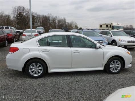2012 Subaru Legacy 2 5i Premium by Satin White Pearl 2012 Subaru Legacy 2 5i Premium Exterior
