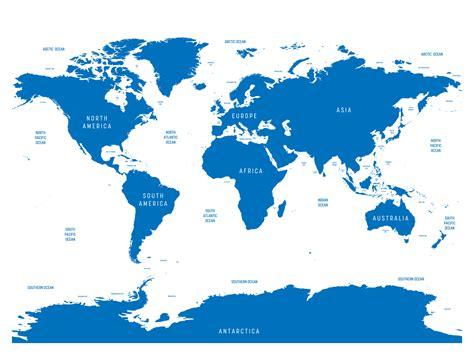 world ocean map ephotopix