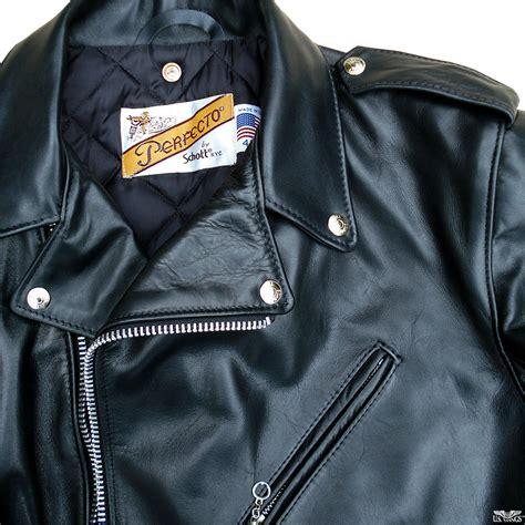 Schott 118 Perfecto Motorcycle Jacket   US Wings