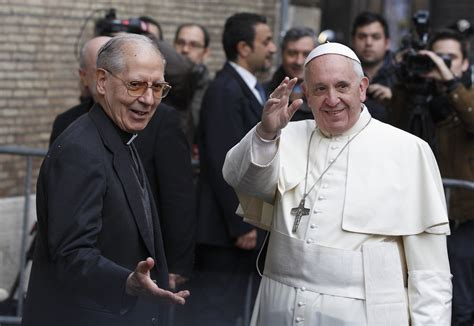 Jesuit Mba by Jesuits Overhaul Leadership Of The Pontifical