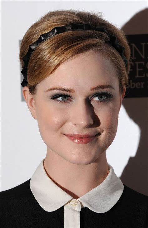 pictures of women wearing the rachel haircut adorable youthful short pixie with headband evan