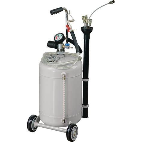 boat gas tank dipstick roughneck pneumatic oil extractor 8 gallon 115 psi