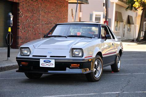 how cars run 1988 ford exp free book repair manuals image gallery exp 1982