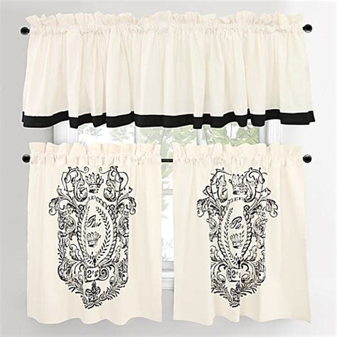 cafe window curtains paris postage cafe window curtain tiers bed bath beyond