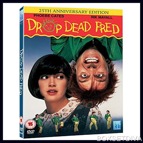 drop dead dvd drop dead fred 25th anniversary edition brand new dvd