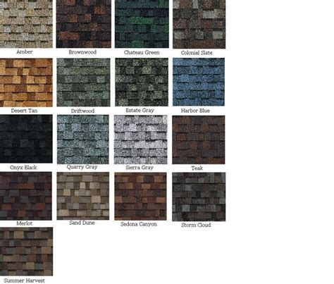 owens corning duration colors owens corning shingle colors owens corning shingles