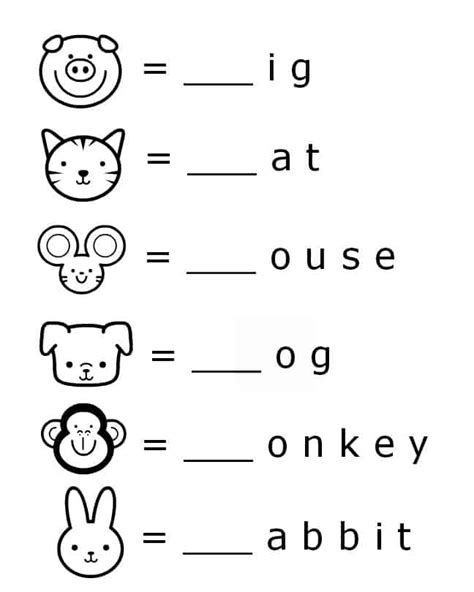 letter sound worksheets kindergarten free beginning